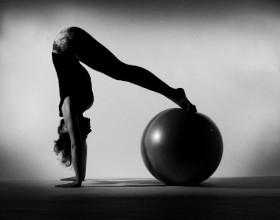 postura con palla